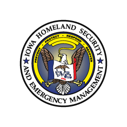 Iowa Homeland Security and Emergency Management logo