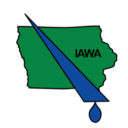 Iowa Association of Water Agencies logo